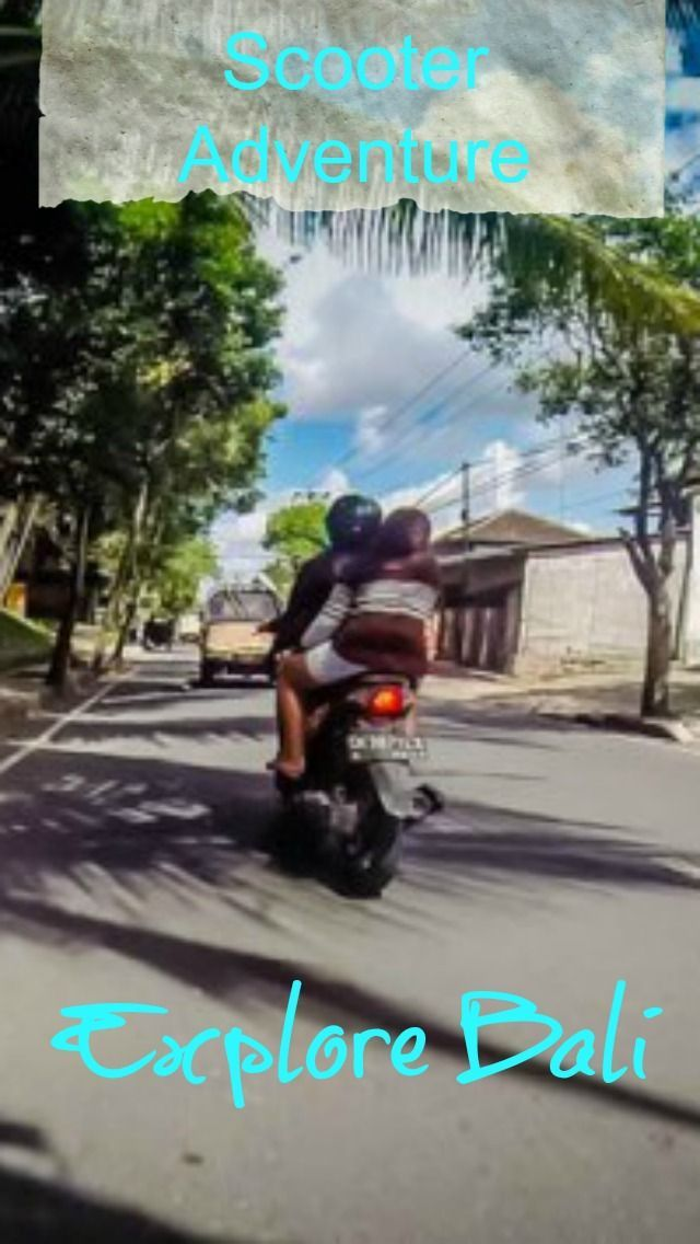 Explore Bali on a scooter adventure! There's noting compared to the freedom you have while riding your own set of wheels down the road. Add that sensation down a new highway or back road you have never visited, lets triple that and put you smack dab in the third world. http://www.divergenttravelers.com/rent-scooter-bali/