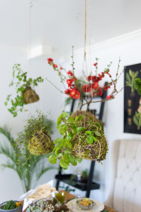DIY String Garden Ruffled