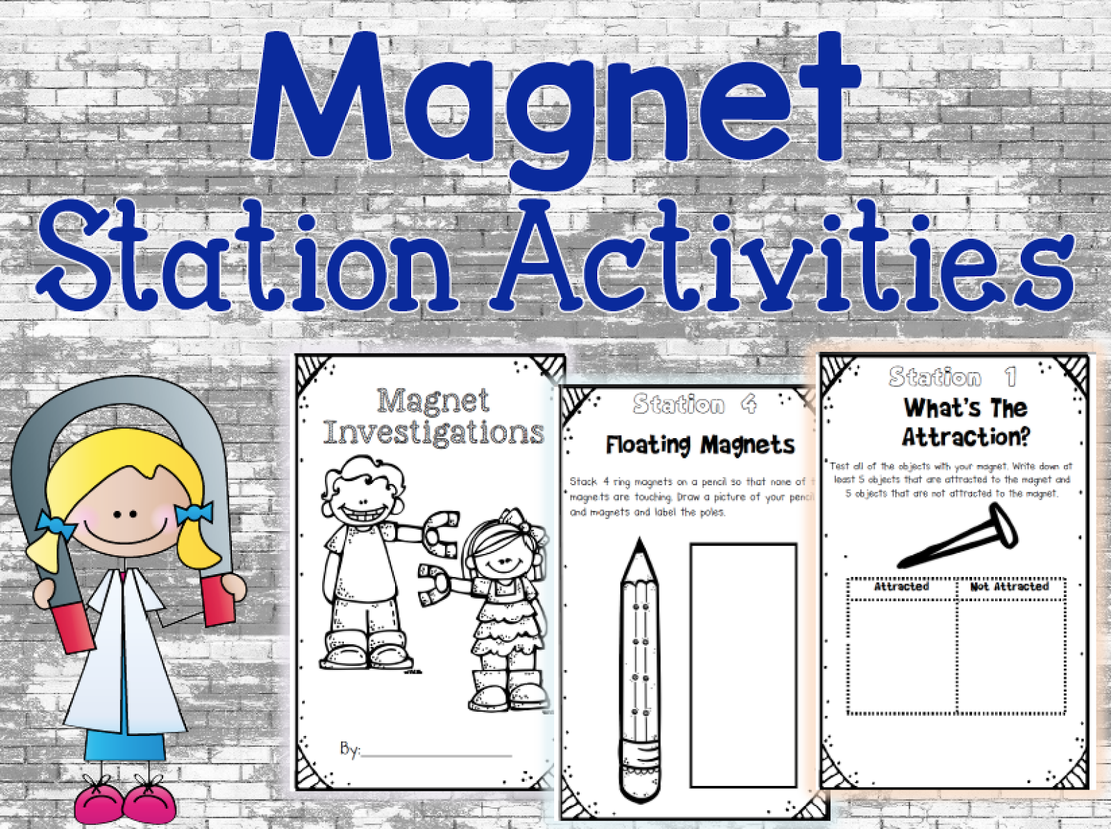 Free Magnet Activities These Hands On Activities Include