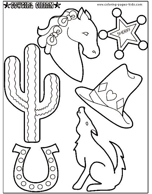 Cowboy Coloring Pages Printable For Kids Painah Com
