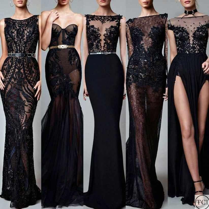 2021 Gece Elbiseleri Muhtesem Transparan Siyah Abiye Elbise Modelleri Siyah Abiye Elbise Modelleri Elbise