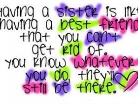 Sisters Quotes 1 Quotes Orb A Planet Of Quotes I Wish I Had