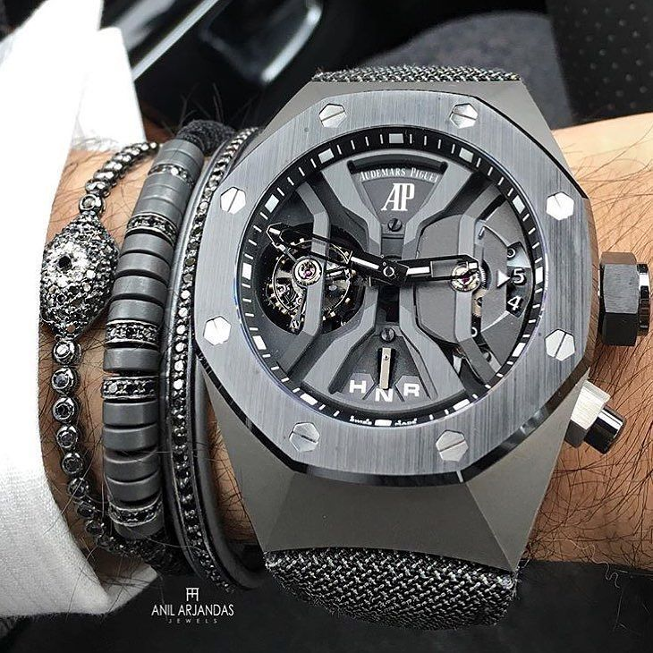 All Grey Wristgame By Anilarjandas Audemars Piguet Royal Oak
