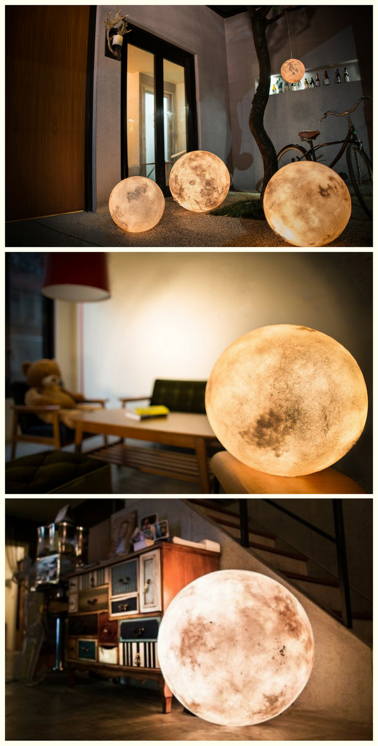 These Magnificent Moon Lanterns Will Light Up Your Home Like Never Before forecast
