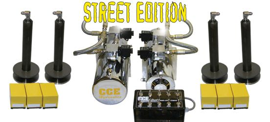 CCE Hydraulics: 2 Pump Street Kit www coolcars org Cool Cars
