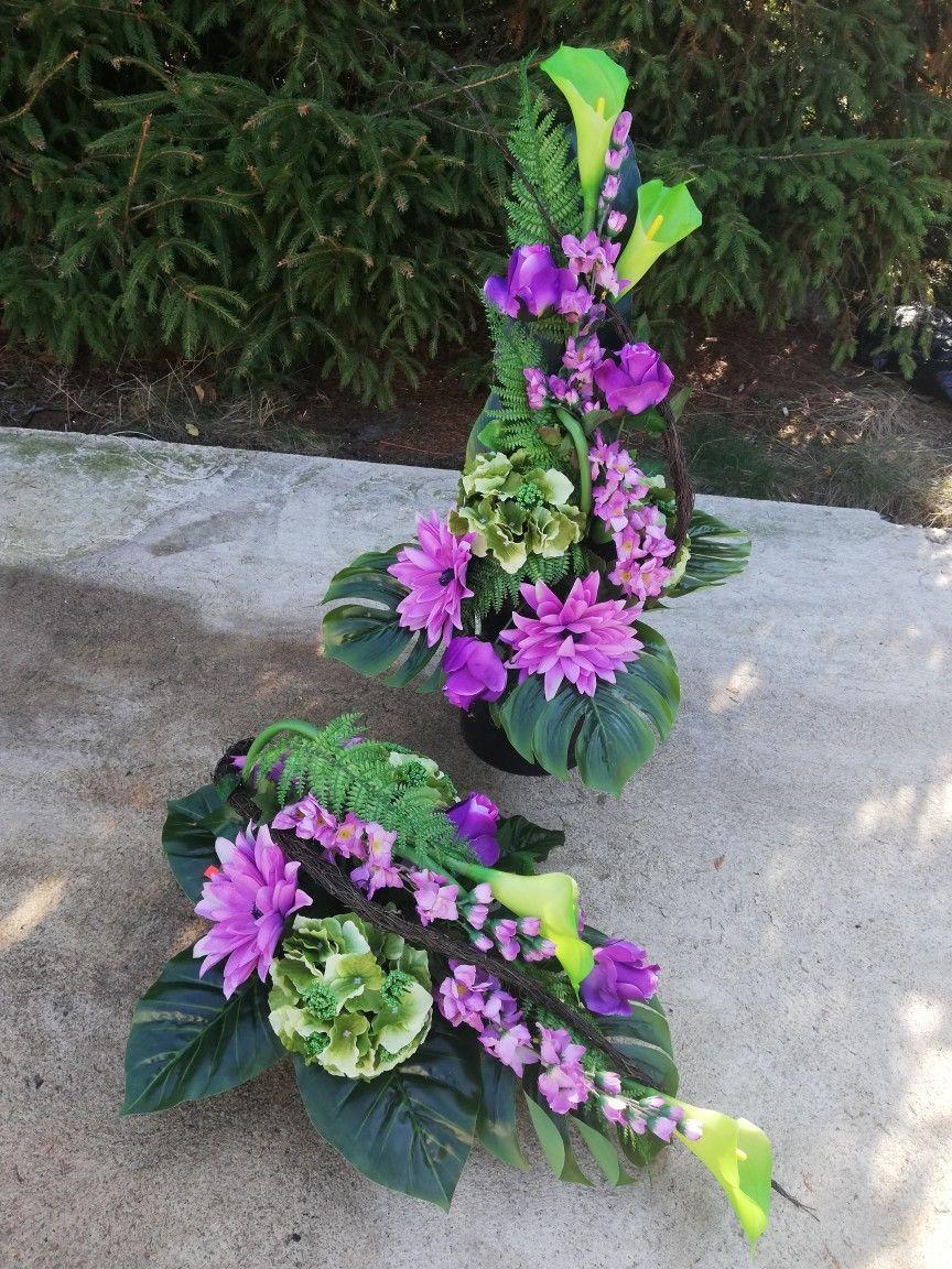 Pin By Alina Olejniczak On Stroiki Na Cmetarz Funeral Flowers Floral Arrangements Floral