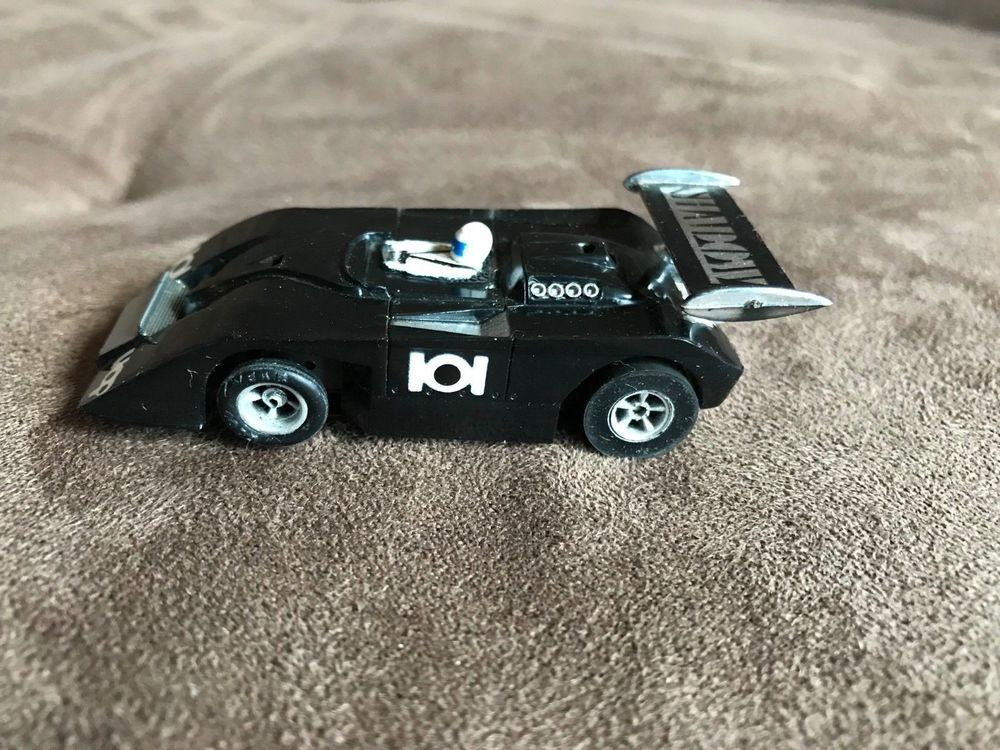 Early 70's AFX Black #101 SHADOW Can-Am Racer slot car