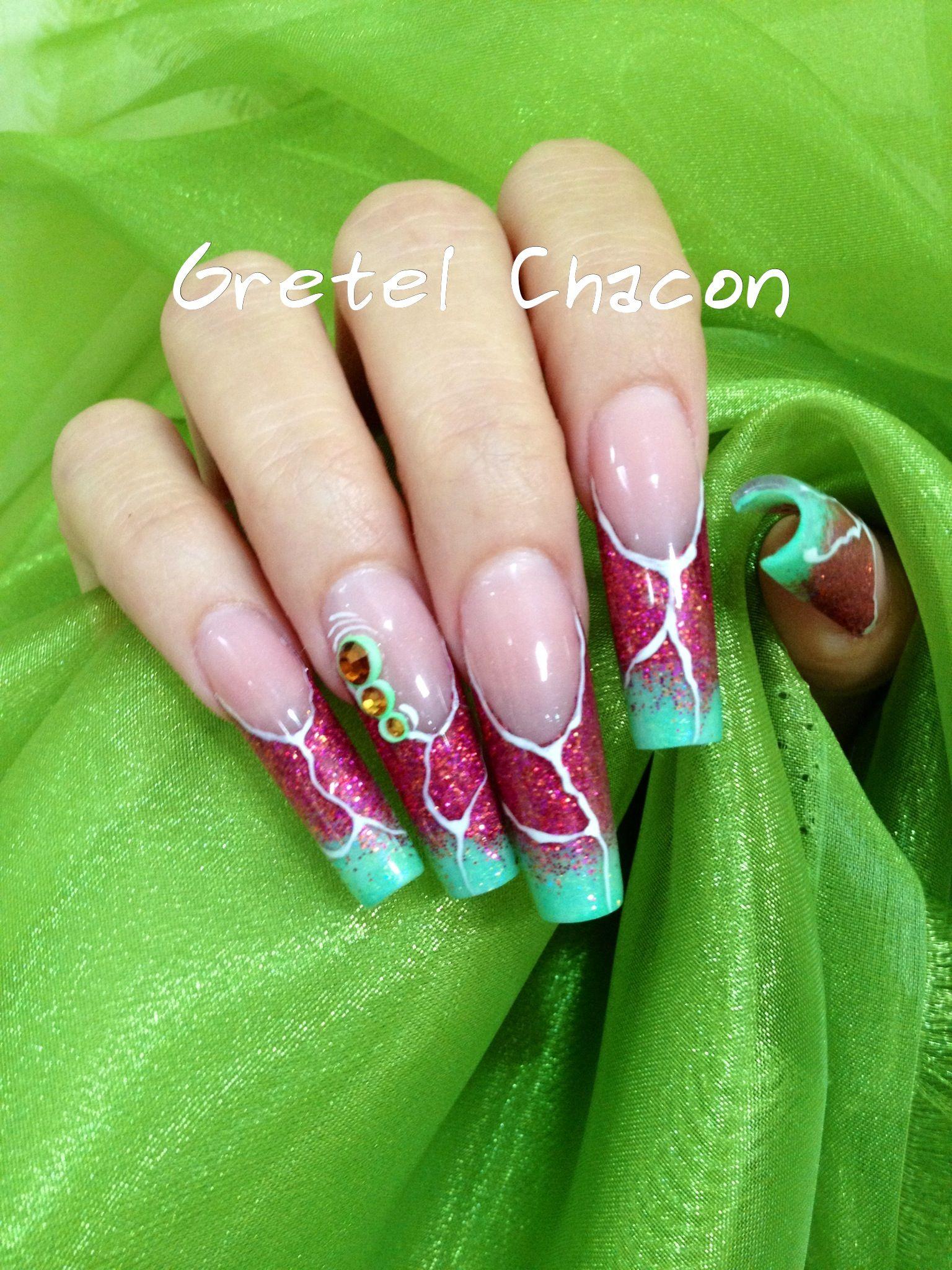 Punta Europea | Las mejores uñas | Pinterest | Mejores uñas, Aries y ...