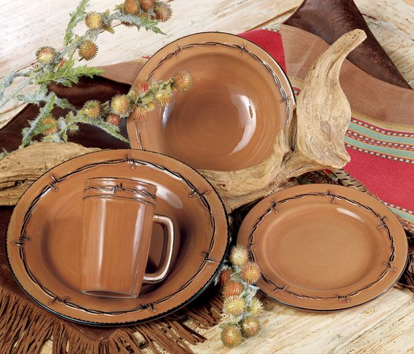 Image detail for -Rustic Ranch Dinnerware| Ranch Kitchen Decor | Western dinnerware & Image detail for -Rustic Ranch Dinnerware| Ranch Kitchen Decor ...