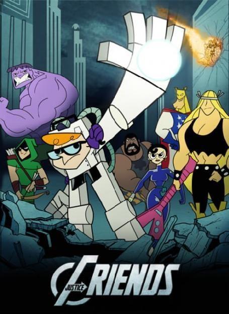 Cartoon Network meets Avengers!