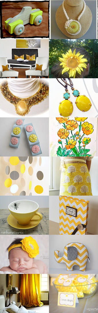Summer Sunshine by Jo Stamatakis on Etsy--Pinned with TreasuryPin.com #endofsummerfinds