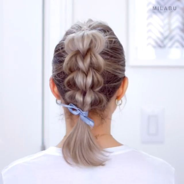 Hairtutorial Videotutorial Hairvide Videotutorial - Hair Beauty