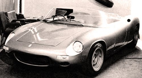 http://chicerman.com  carsthatnevermadeit:  De Tomaso Vallelunga roadster 1963. This was De Tomasos first car shown at the 1963 Turin Motor Show and built byCarozzeria Fissore.De Tomaso had hoped to sell the design of the concept to another companybut when there were no takers  #cars