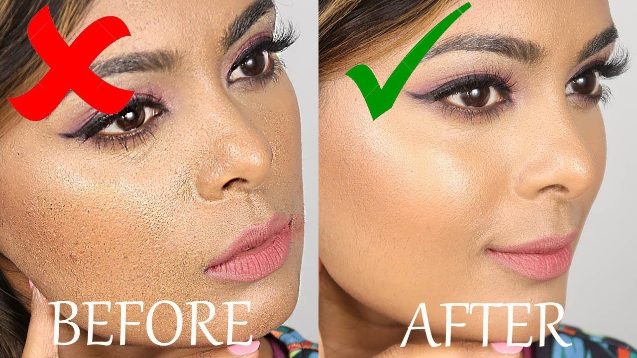 How To Prevent CAKEY FOUNDATION - 8 Tips To Apply Foundation For