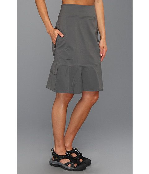5179540775 Royal Robbins Discovery Skirt Charcoal - Looks like a great travel skirt.