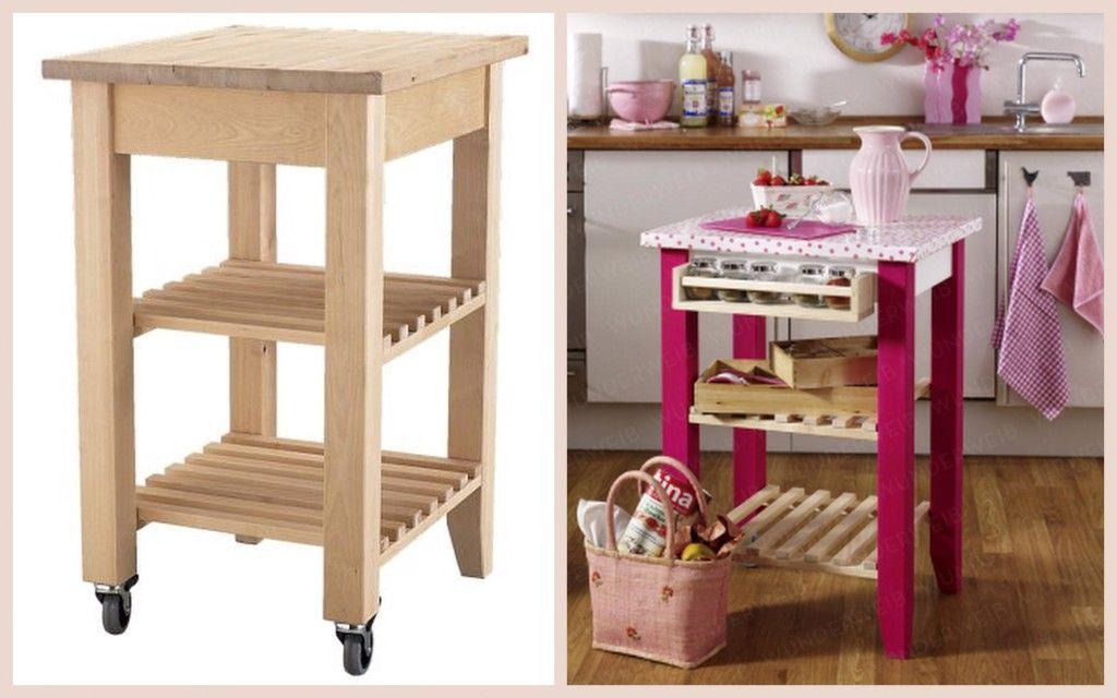 Küchenwagen Ikea ~ Bbq cart ikea bekvam hack kitchen cart redo pinterest ikea