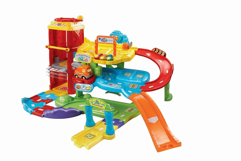 Vtech Baby Tut Tut Flitzer Parkgarage Mit Der Tut Tut Baby Flitzer Parkgarage Spielen Lernen Und Parken Sp Baby Geschenke Tut Tut Baby Flitzer Spielzeug