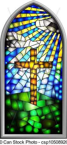 Here You Can See The Stained Glass Church Window Clipart Collection Use These For Your Documents Web Sites