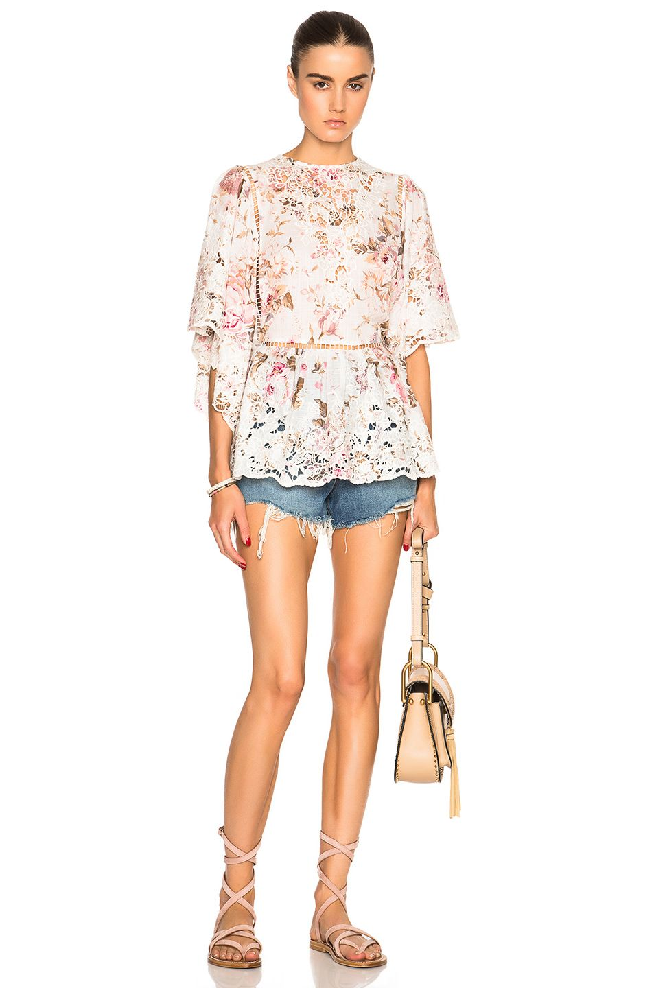 84f88146cc Image 5 of Zimmermann Eden Embroidered Top in Floral Embroidery ...