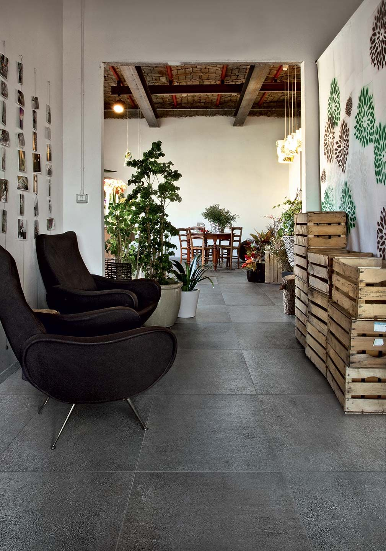 Terracotta Tiles Floor Imitation With Ceramic Tiles: Terra Collection