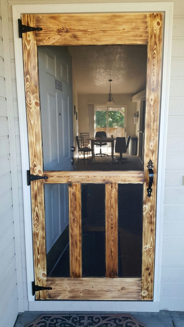 18 Diy Screen Door Ideas New House Decor Pinterest Screens