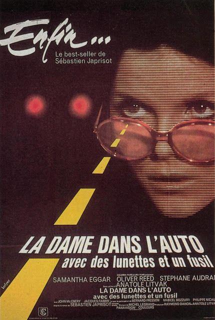 Francomac Litvak 1970 La Dame Dans L Auto Avec Des Lunettes Et Un Fusil Oliver Reed Bernard Fresson Dame