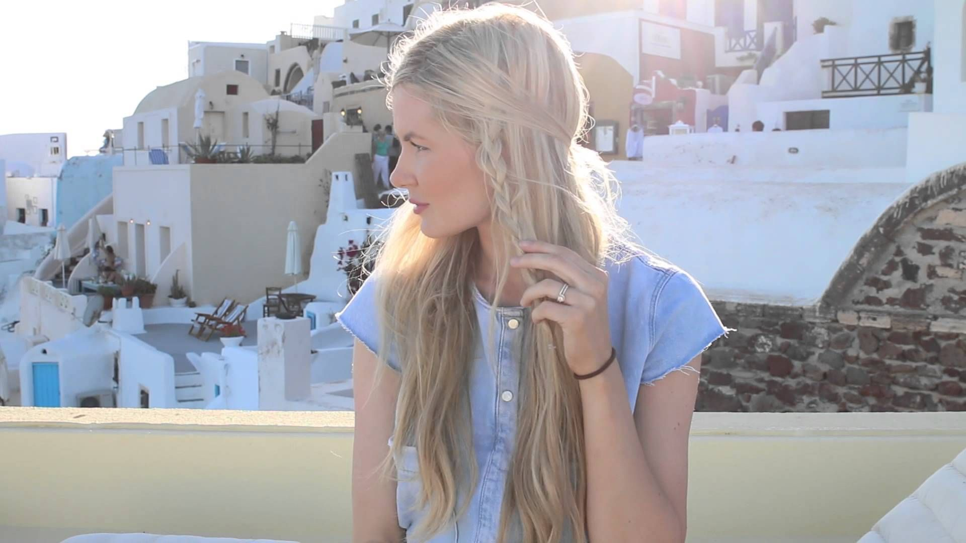 easy hairstyles for vacations indulging my goddess side