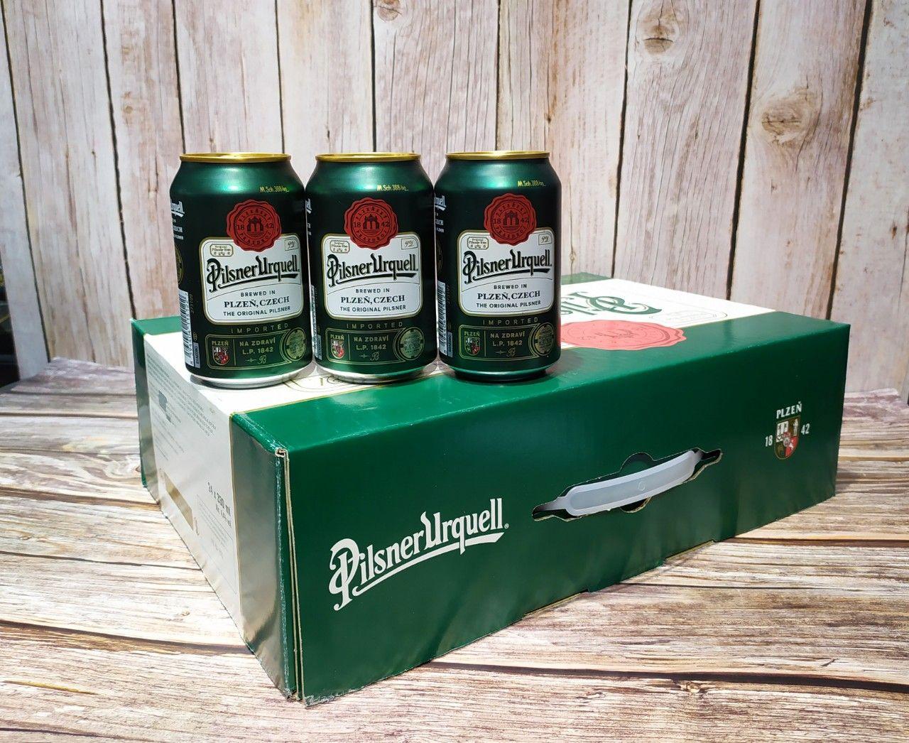 Bia Pilsner Urquell lon 330