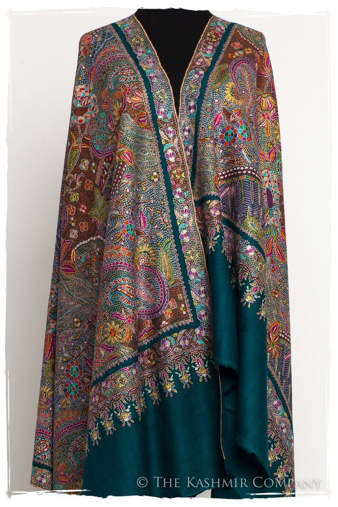 d12b60eb9 Fleur Tropicale - Grand Pashmina Shawl | Collector's Edition ...