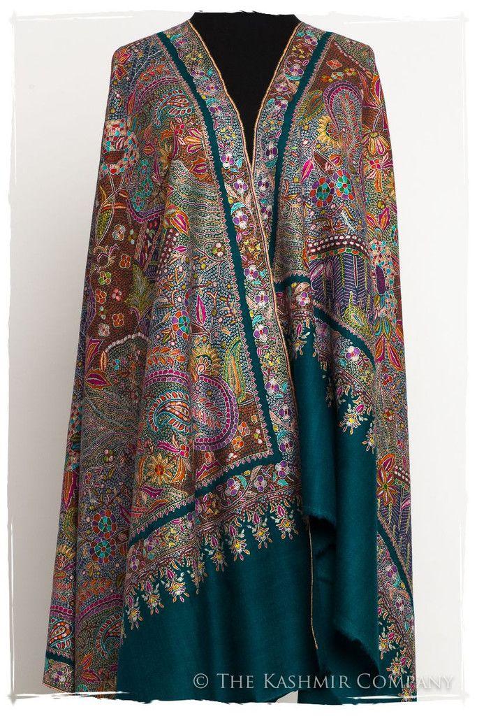 Fleur Tropicale Grand Pashmina Shawl Pashmina Shawl Pashmina Fashion