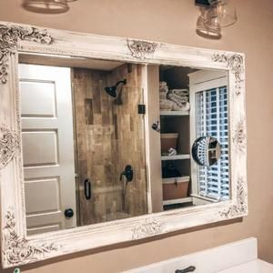 Pin By Nathalie Dufort On Mirrors In 2020 French Country Bathroom Shabby Chic Bathroom Bathrooms Remodel