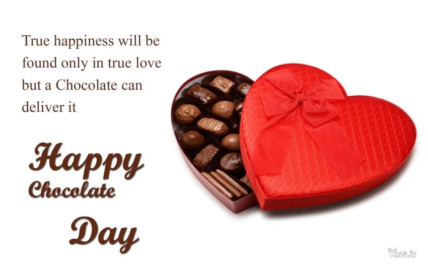 Happy Chocolate Day Images 2018, GIF, HD Wallpapers, 3D Photos & Pics,  Animation & Glitters for Whatsapp DP & Profile Pics 2018 for Your  Girlfriend, ...