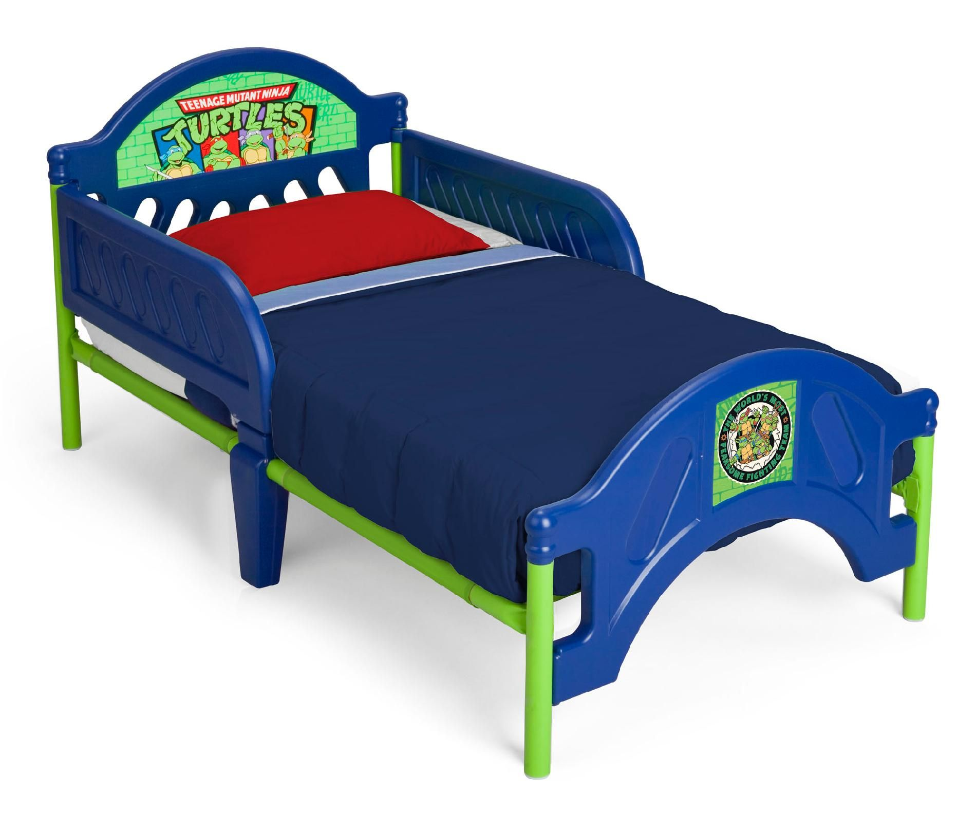 delta children nickelodeon ninja turtles toddler bed 080213028343
