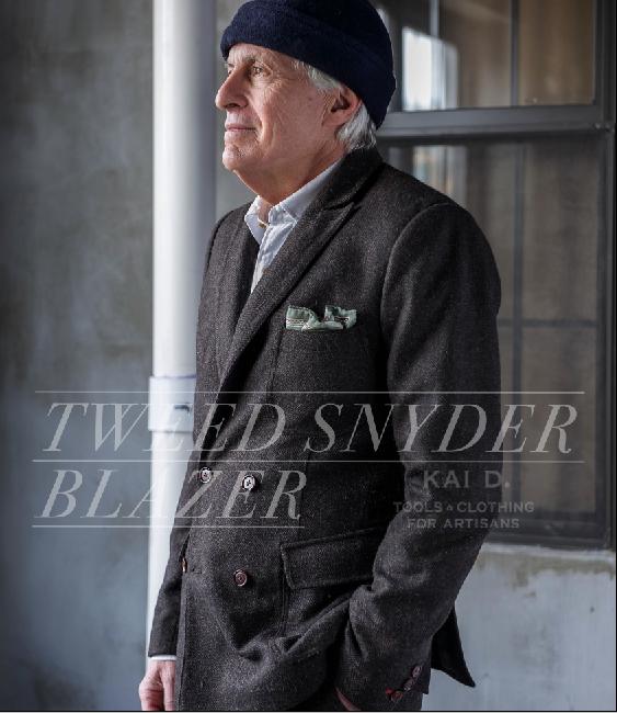 tweed snyder jacket #KaiD www.KaiDUtility.com