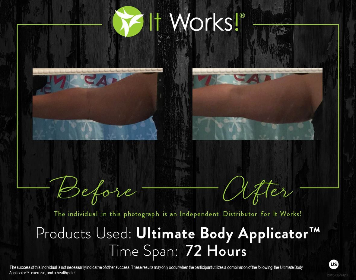 Tighten, tone, and firm with that #CrazyWrapThing