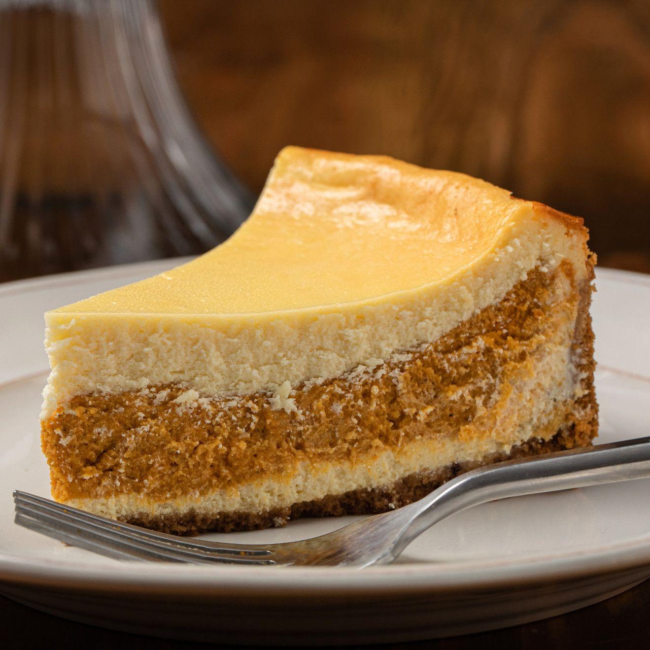 Layered Pumpkin Cheesecake Recipe Recipe In 2020 Pumpkin Cheesecake Recipes Cheesecake Recipes Pumpkin Dessert
