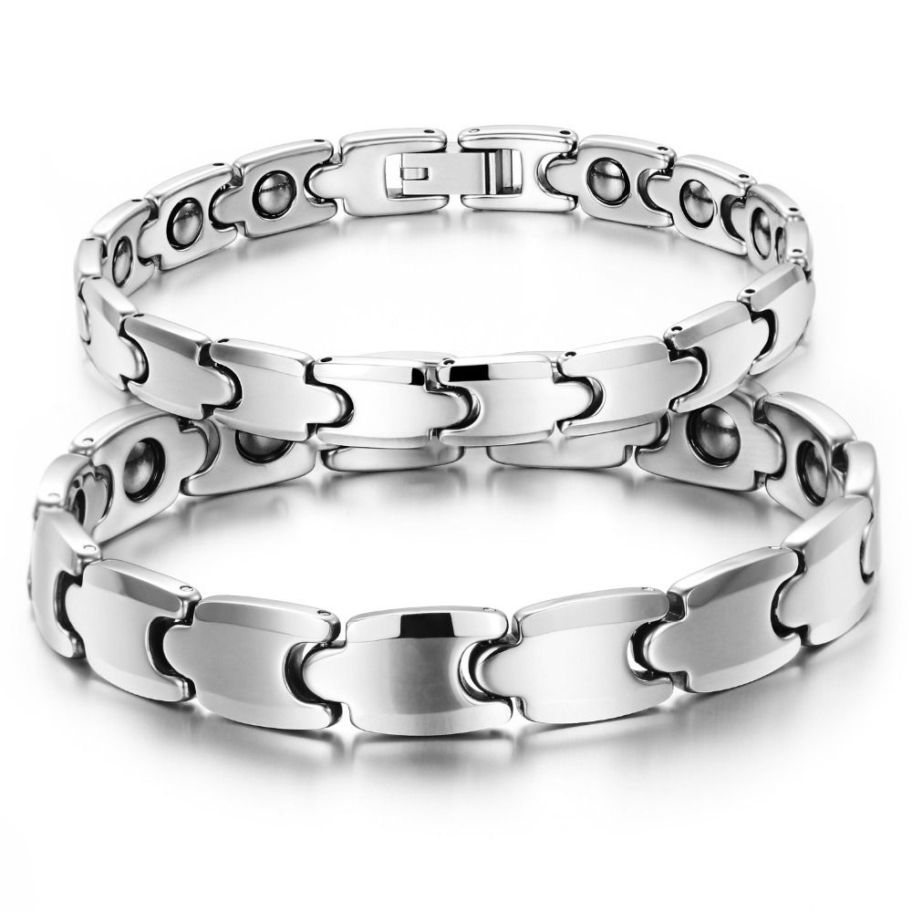 new jewelry tungsten steel couple bracelet fashion energy