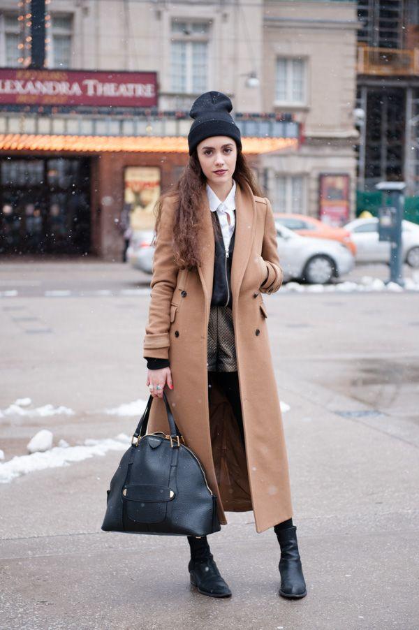 alphacityguides | Toronto, Fashion weeks and Long wool coat