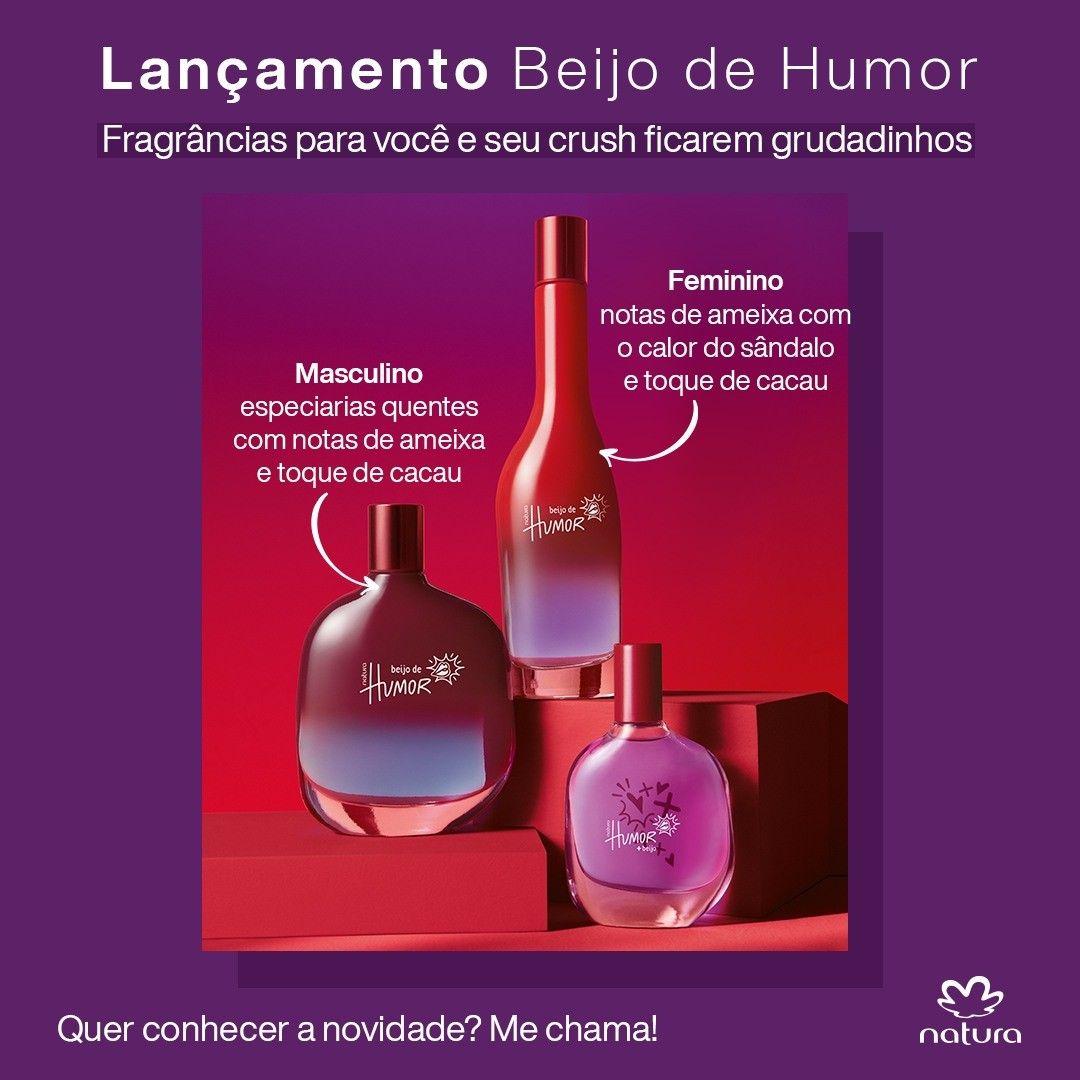 Perfumaria Natura Lancamento Beijo De Humor Surpreenda Quem Voce Ama Disponivel No Meu Espaco Digital A Part Em 2020 Humor Masculino Salvatore Cosmeticos Fragrancias