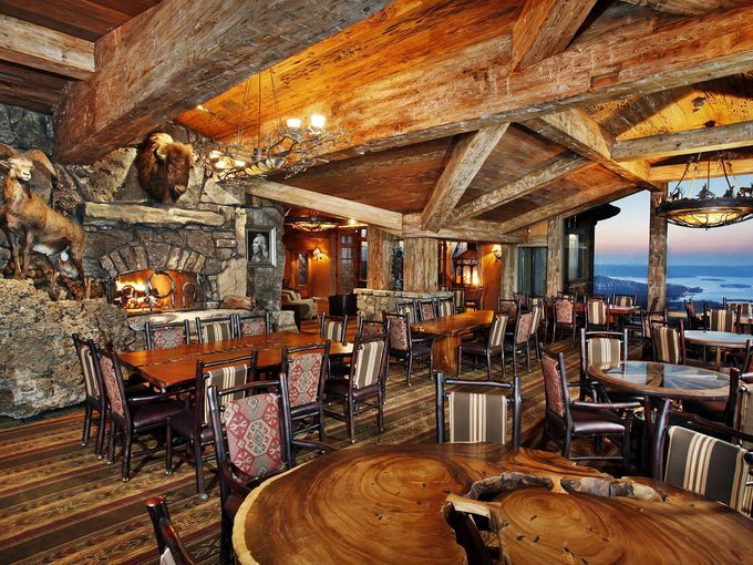 Osage Restaurant at Top of the Rock offers an openair