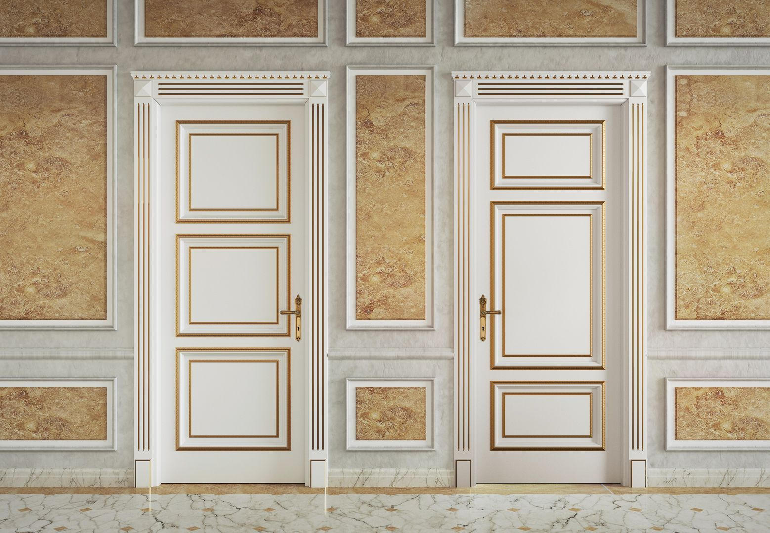 Creazioni Classiche-Atelier porte in legno massello per interni ...