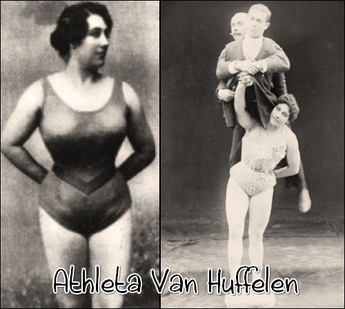 She Once Lifted 204 Lbs Over Her Head With One Arm.