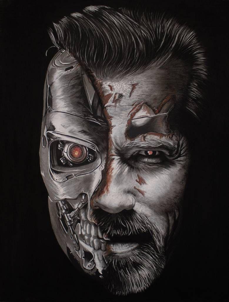 Terminator Dark Fate By Artwork Tom On Deviantart Com Imagens