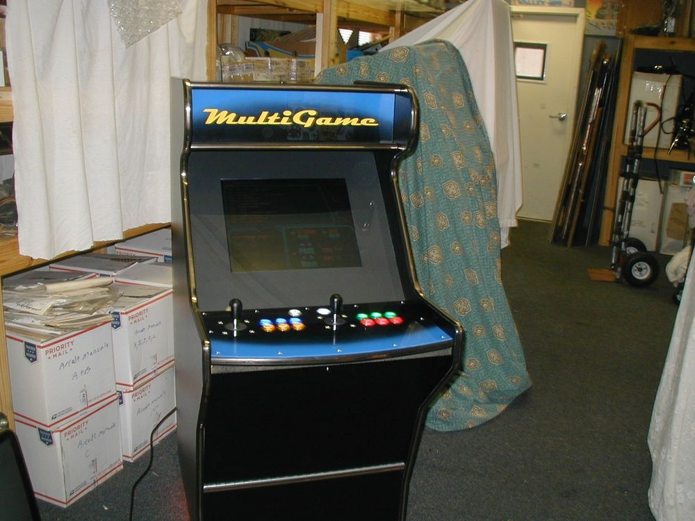 10+ Multi game arcade machine table treatment