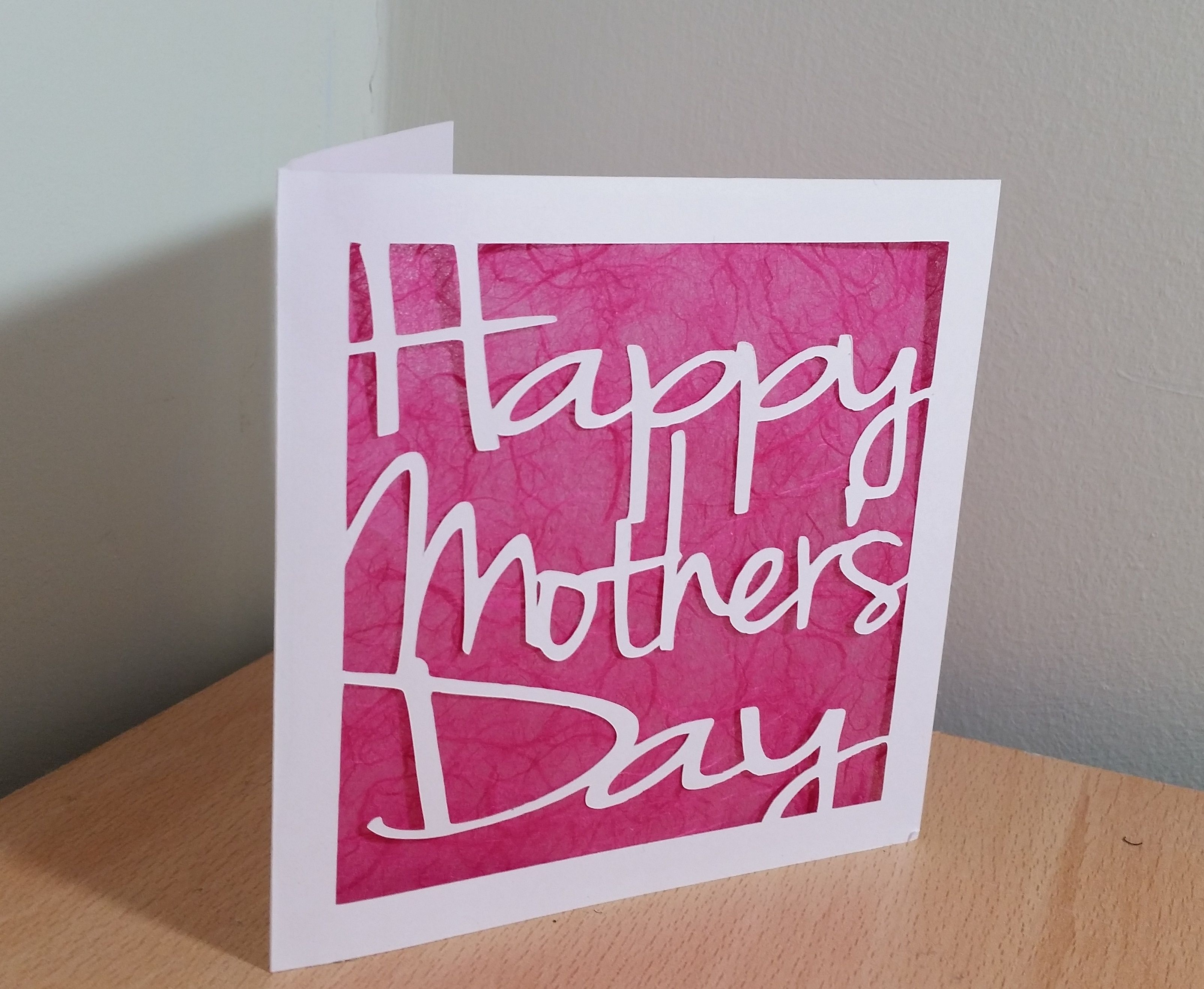 Mother s Day Papercut Card Template ❤Manualidades❤