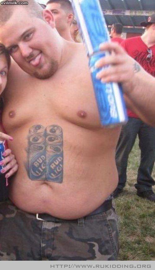 Bud Light Man Bad Tattoos Fails Bad Tattoos Really Bad Tattoos
