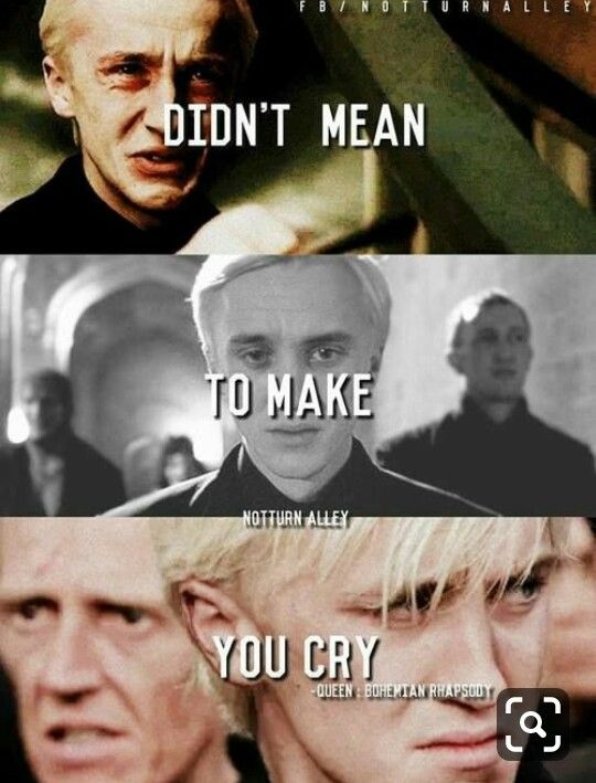 Draco You Made Me Cry So Much I Cried With You Harry Potter Harry Potter Characters Harry Draco