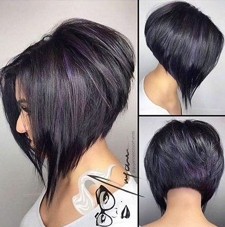 30 Pictures Of Angled Bob Hairstyles For Women Best Hairstyle Models Bob Frisur Haarschnitt Bob Bob Frisur Kurzer Nacken