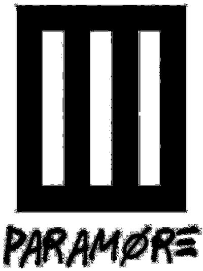 bars paramore logo band