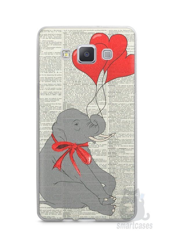 Capa Samsung A5 Elefante e Corações - SmartCases - Acessórios para celulares e tablets :)